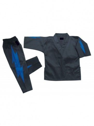 Black Kickboxing Thunder Suit