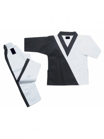 Black And White Kickboxing Suit