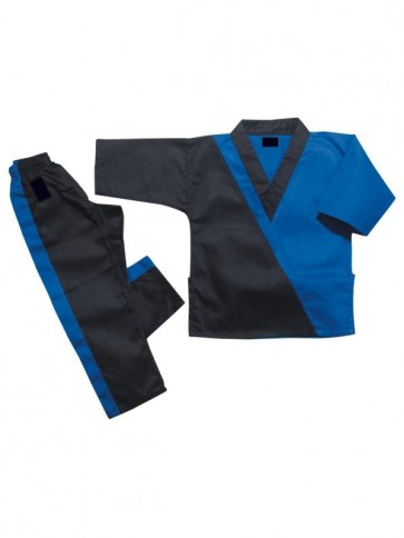 Black And Blue Kickboxing Suit
