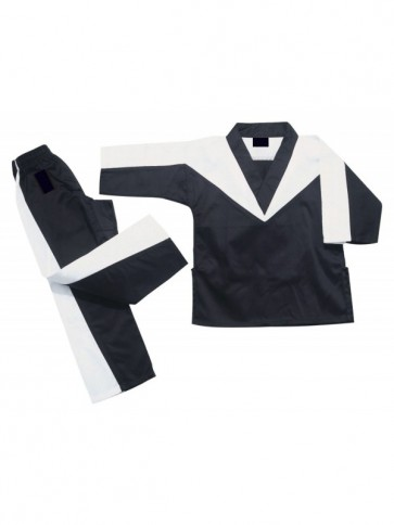 Black And White Kickboxing Gi