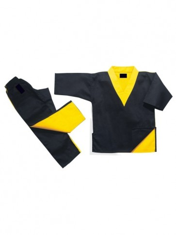 Black And Yellow Kickboxing Gi