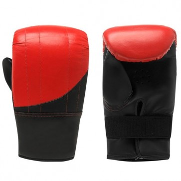 Red And Black Bag Gloves