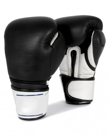 Black With White Boxing Gloves