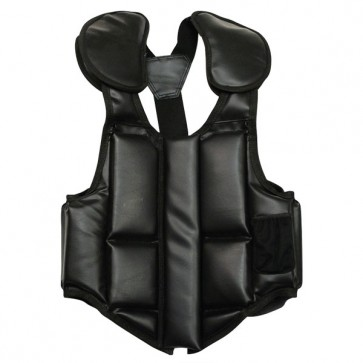Bullet Proof Style Leather Chest Guard