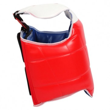 Red And White Chest Guard