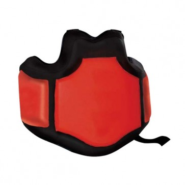Black And Red Chest Protection Guard