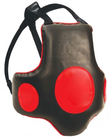MMA Chest Guard Black And Red