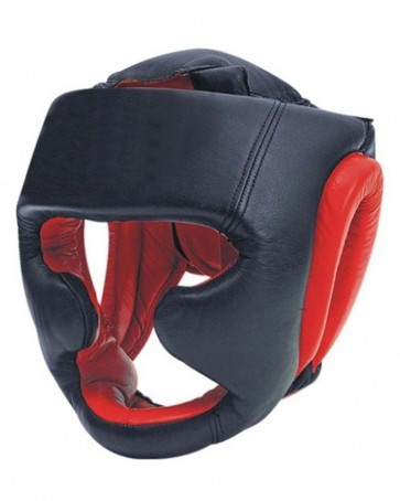 MMA Head Guard Black And Red