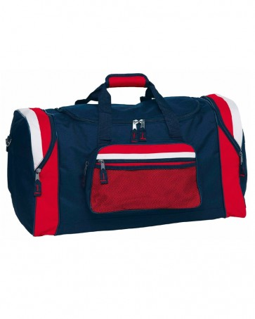 Red Blue And White Sports Bag