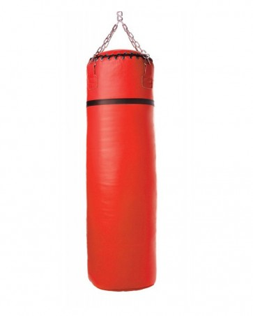Red With Black Stripe Punching Bag