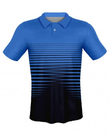 Sublimated Polo Sports T-Shirt