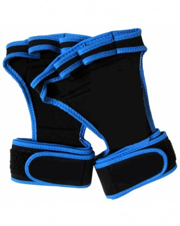 WeightLifting Grips Black With Blue