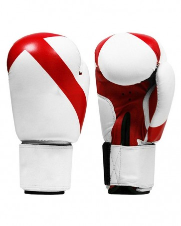 White With Red Boxing Gloves