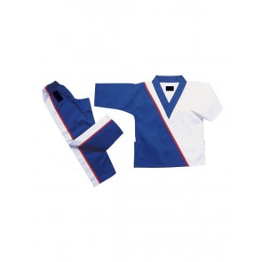 Blue And White Kickboxing Gi