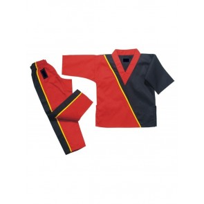 Red And Black Kickboxing Gi