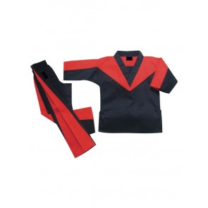 Black And Red Kickboxing Gi