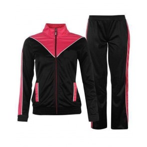 Black And Pink Tracksuit