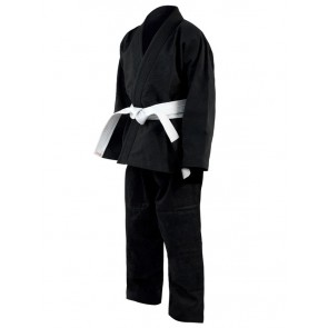 Black Karate Gi In Canvas