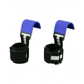 Blue And Black WeightLifting Hooks