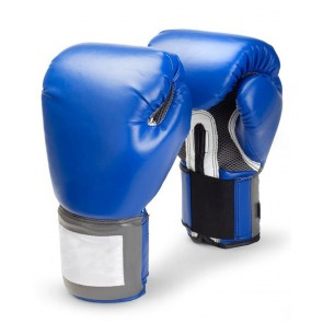 Blue And White Boxing Gloves