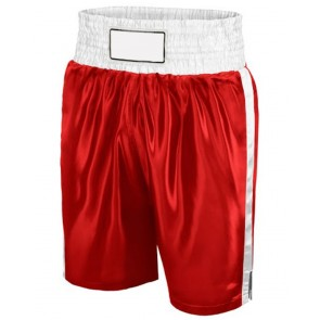Boxing Short Red And White