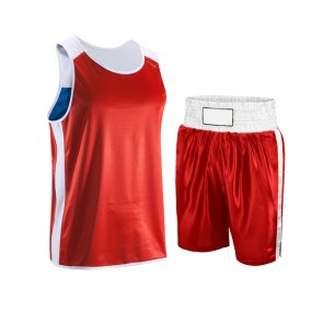 Boxing Uniform Red And White