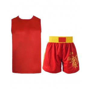 Boxing Uniform Red