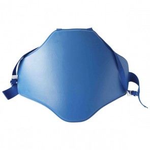Blue Plain Chest Guard