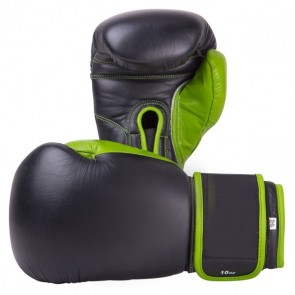 Black And Green Boxing Gloves