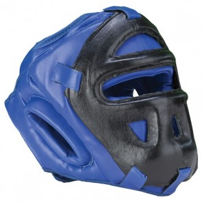 Blue And Black Head Guard