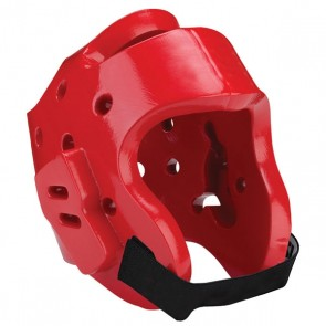 Red Head Guard With Air Vents
