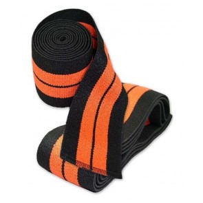 Knee Wraps Black And Orange