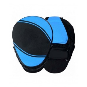MMA Focus Mitts Black And Blue