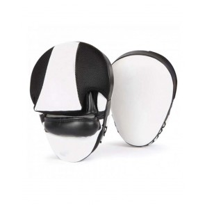 MMA Focus Mitts Black And White