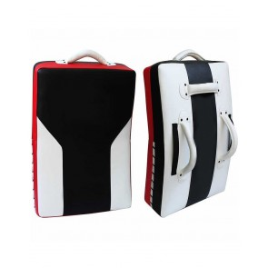 MMA Kick Shield Black White And Red