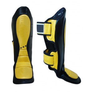 MMA Shin Guards Yellow