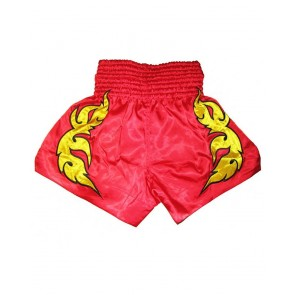 Muay Thai Short Red
