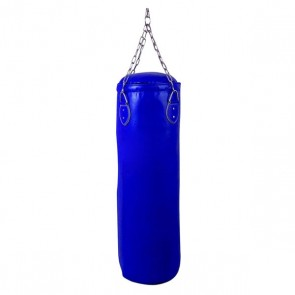 Blue Punching Bag With Hanging Chain