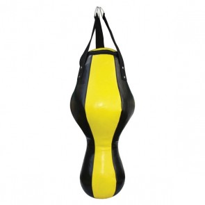 Yellow And Black Punching Bag