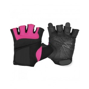 Pink And Black Fitness Gloves