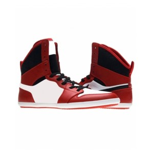 Red And White Boxing Shoes