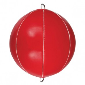 Red Speed Ball With Metal Hooks Both Sides
