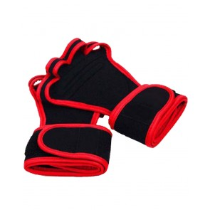 WeightLifting Grips Black And Red