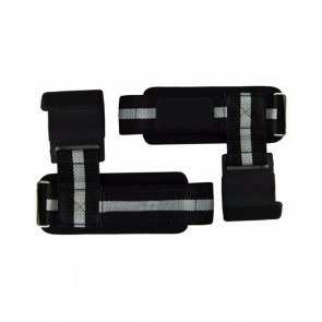WeightLifting Grips Black With Grey