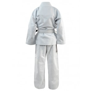 White Karate Gi In Canvas