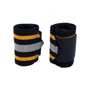 Wrist Wraps Yellow And Grey